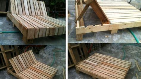 chaise longue palette recycler des palettes de bois en 65 id 233 es cr 233 atives