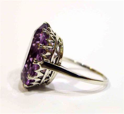 vintage amethyst ring blackheath jewellery