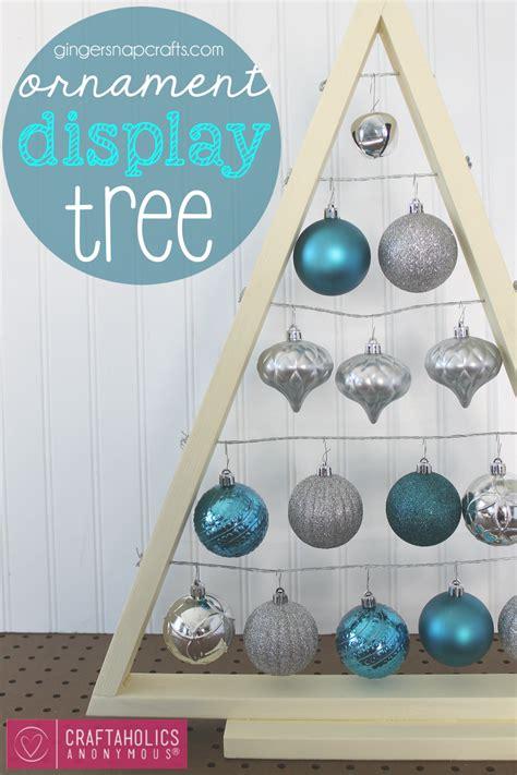 how to make tree ornaments craftaholics anonymous 174 diy ornament display tree tutorial