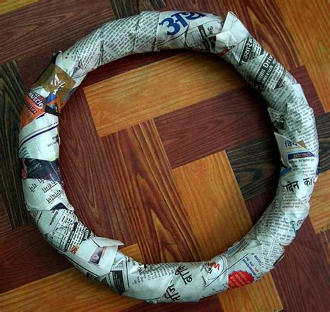 tutorial    wreath form diy