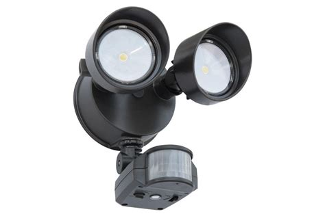 2 head led motion activated flood light new lithonia lighting 2 head led floodlight with motion sensor