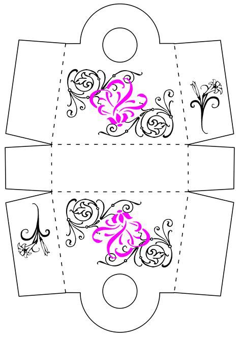 templates for favour boxes favor boxes favor box template miniature shop purse