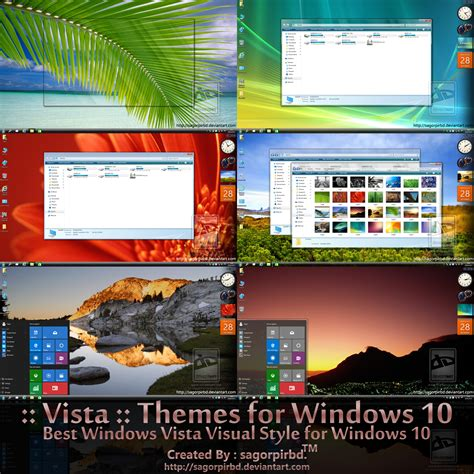themes for windows 10 vista themes final for win10 by sagorpirbd on deviantart