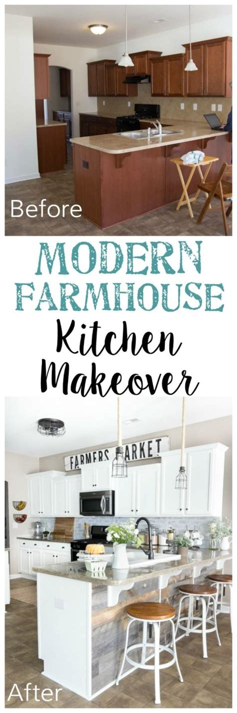 20 quot salvaged quot budget friendly farmhouse projects page 2 best 25 modern farmhouse kitchens ideas on pinterest