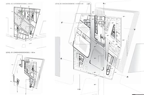zaha hadid floor plans zaha hadid s library and learning center buildipedia