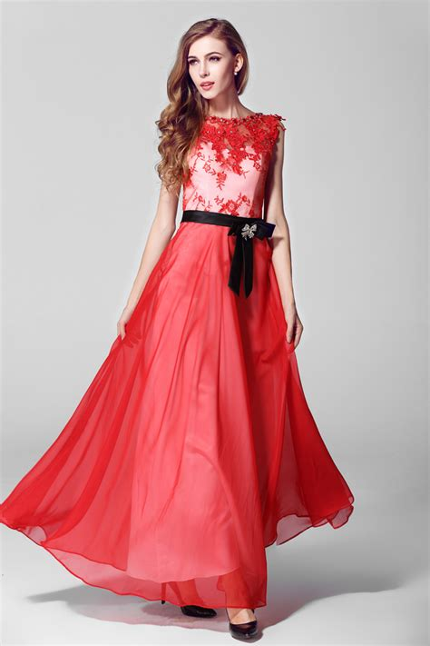 pattern for net dress 2014 european style evening dress floral pattern