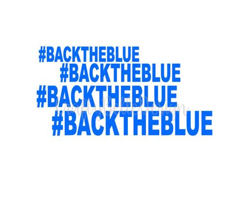 Leo Back On The Market by Back The Blue Decal Support Decal