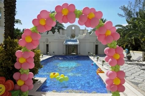 Balon Bentuk Dadu Happy Birthday flower balloon decorations favors ideas