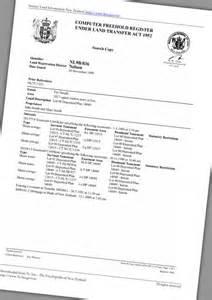 property title real estate te ara encyclopedia of new