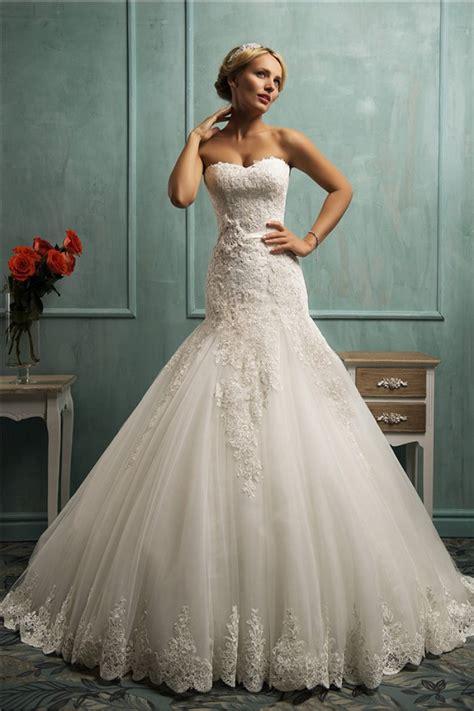 Brautkleider Fit And Flare by Hochzeitskleid Fit And Flare Spitze Alle Guten Ideen