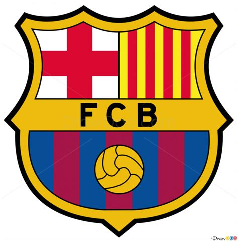 tutorial logo barcelona how to draw barcelona football logos