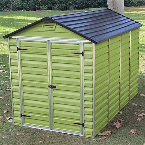 Shed Skylight by Waltons 6 X 10 Green Skylight Plastic Shed Free Floor