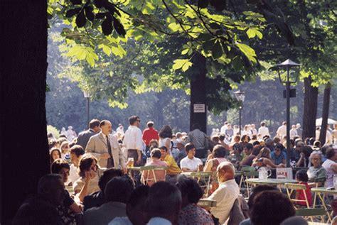 200 Jahre Englischer Garten München by 200 Jahre Biergarten 2012 Steht Das Touristische Jahr In