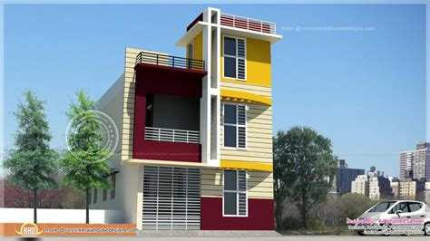 home design tamilnadu style storey house elevation kerala
