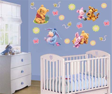 cochecito bebesit de winnie pooh para beba color rosa y pegatinas infantiles pegatinas baby pooh