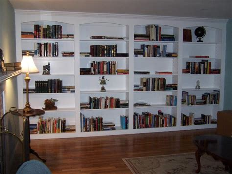 floor to ceiling bookshelves plans arts and crafts built in bookshelves paint
