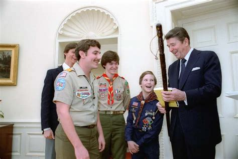 Boy Scout Office by What The Last 5 U S Presidents Said About Scouting Cub