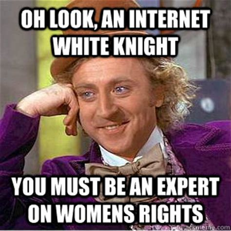 White Knight Meme - white knight shaming happier abroad forum community