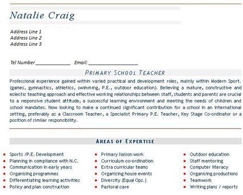 Curriculum Vitae Sles Of Teachers Cv Sles Page 2