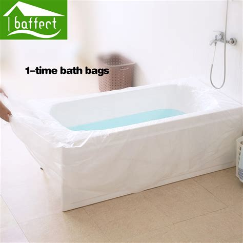 bathtub covers aliexpress com buy baffect disposable travel bathtub