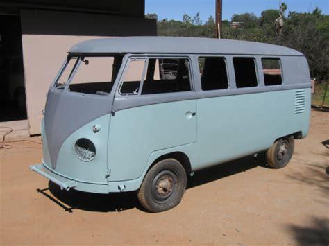 volkswagen vanagon blue seller of cars 1959 volkswagen vanagon blue