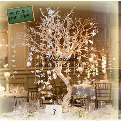 kristall le wf07092 mode cristal argent manzanita arbre de table de