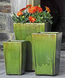 glazed pottery and it s garden fountains