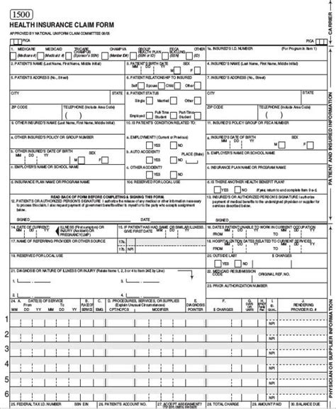 42 Sle Claim Forms In Pdf Sle Templates Insurance Claim Form Template
