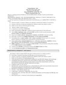 An Exle Of A Resume For A by Ct Technologist Resume Exle Dental Lab Resume Format For Laboratory Technician Kabylepro