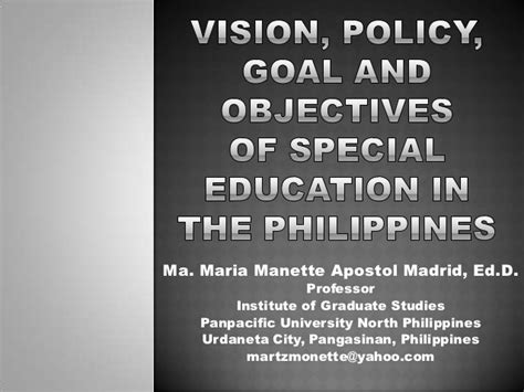 thesis about education problems in the philippines education policy issues in the philippines