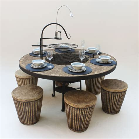 Fire Pit Accessories - bluestone fires table braai keith hamilton