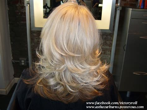 long hair short layer cut and blow out beautiful long layered haircut with a round brush blowout www