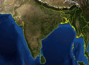 satellite maps of maps page on india
