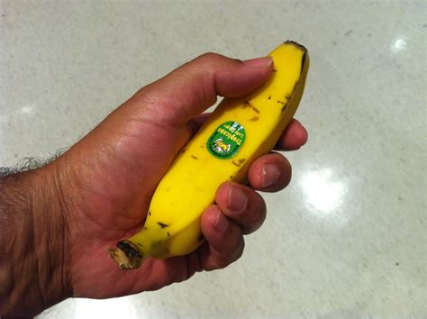 a tiny banana imgur so apparently we re posting small things today here s a