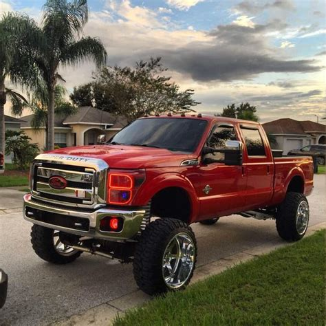 images  ford lifted trucks  pinterest