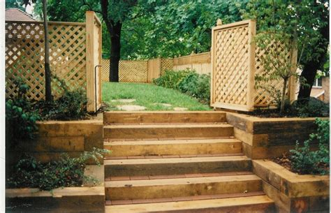 Wood Garden Wall 19 Best Images About Wood Retaining Wall On