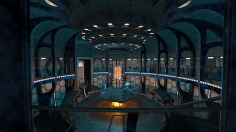 Room 2015 Free Tardis Console Room 2014 Wip By Thy4205 On Deviantart