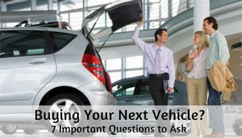 buying   vehicle  important questions   tackling  debt