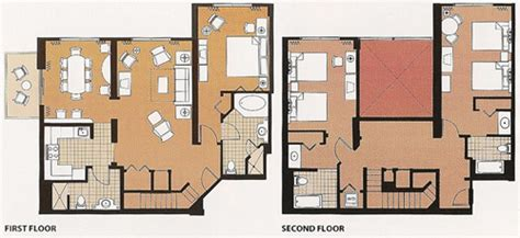 Kidani Village 2 Bedroom Villa Floor Plan Disney S Saratoga Springs Resort Amp Spa Dvc Rentals
