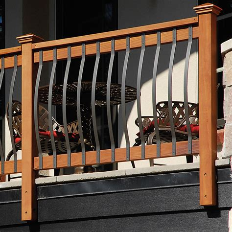 Black Balusters Deckorators Arc Mount Balusters 32 1 4 Quot Pack Of 5