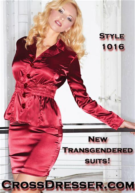 mens cross dressing salon press release for crossdressing couture clothing designers