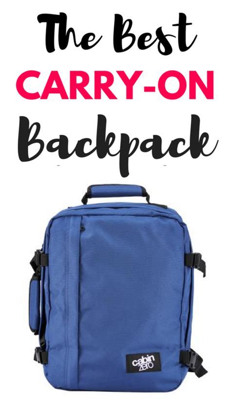 best cabin backpack cabin zero bag review the best carry on backpack