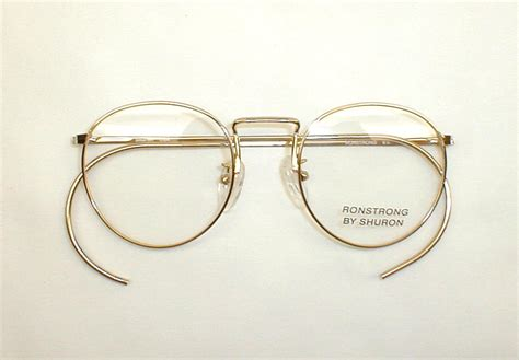 antique gold silver eyeglasses spectacles