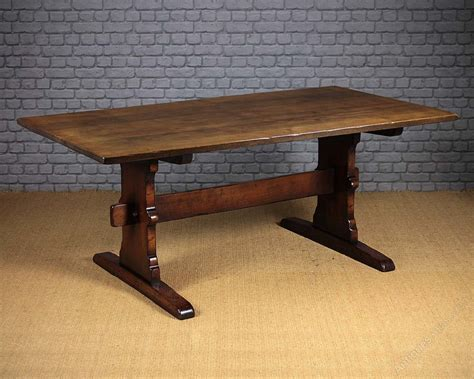 Refectory Dining Tables Antiques Atlas Large Oak Refectory Dining Table