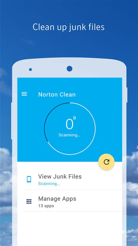 junk apk norton clean junk removal android apps on play