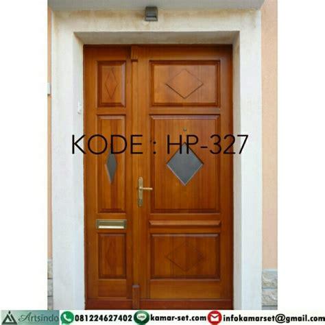 Hp Pintu model pintu rumah minimalis klasik modern kayu jati jepara