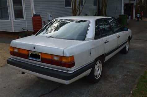how to sell used cars 1987 audi 5000s navigation system 1987 audi 5000 cs turbo quattro