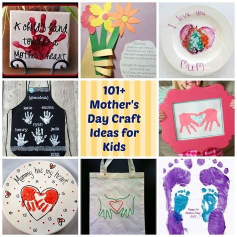 day ideas mothers day craft ideas for children ye craft ideas