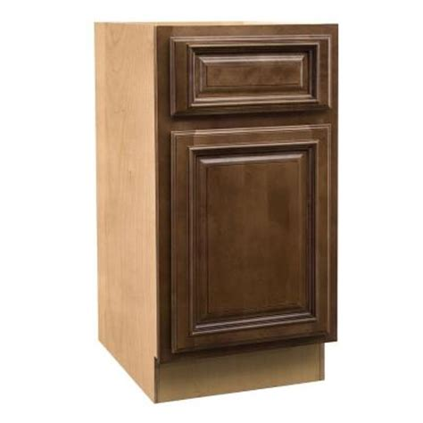 Desk Height Base Cabinets by Home Decorators Collection Assembled 15x28 5x21 In Desk