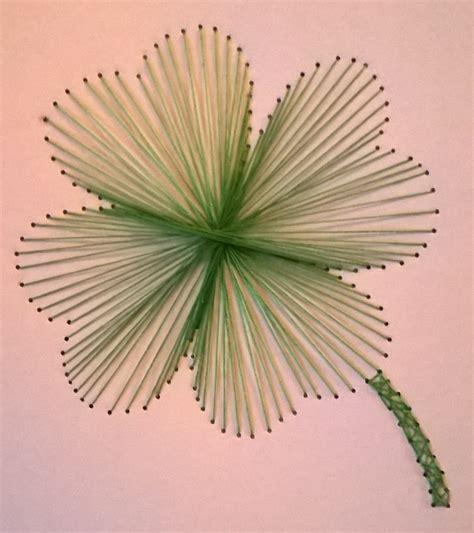String Patterns - four leaf clover page michaela s string